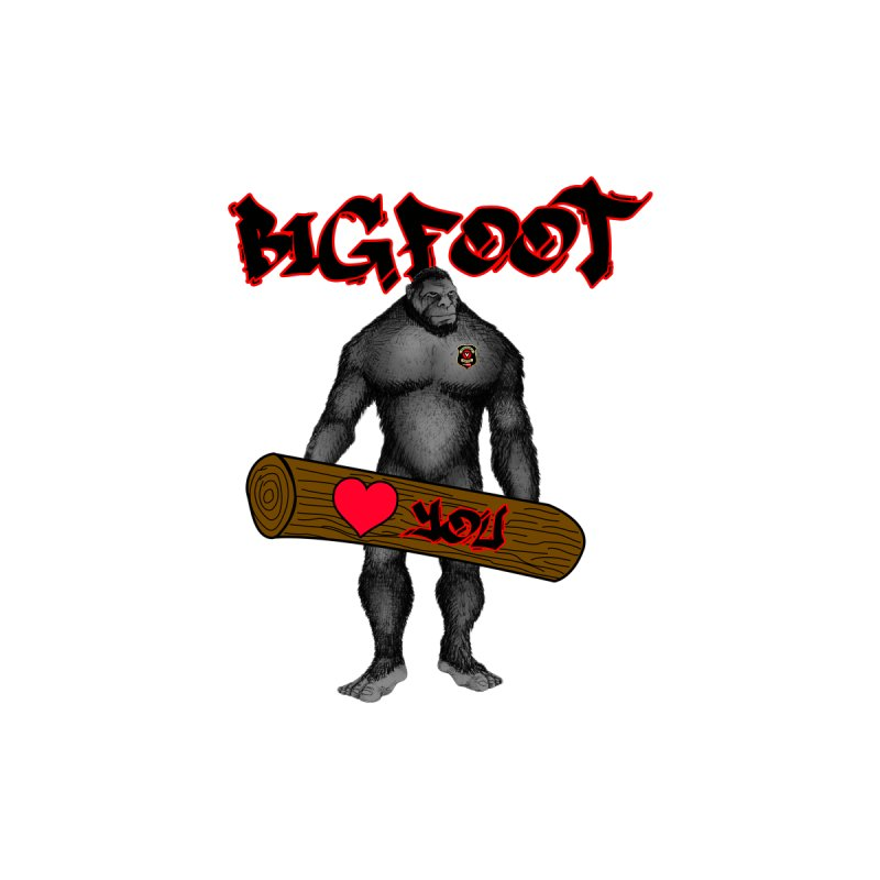 Bigfoot Men's T-Shirt by Vegetable Police