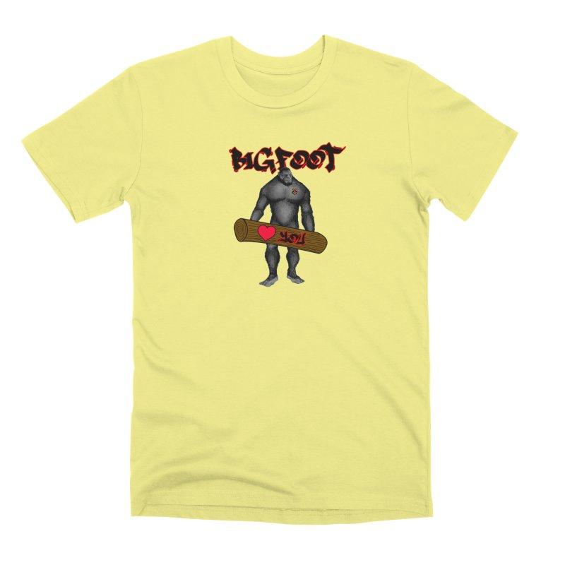 Bigfoot Men's Premium T-Shirt by Vegetable Police