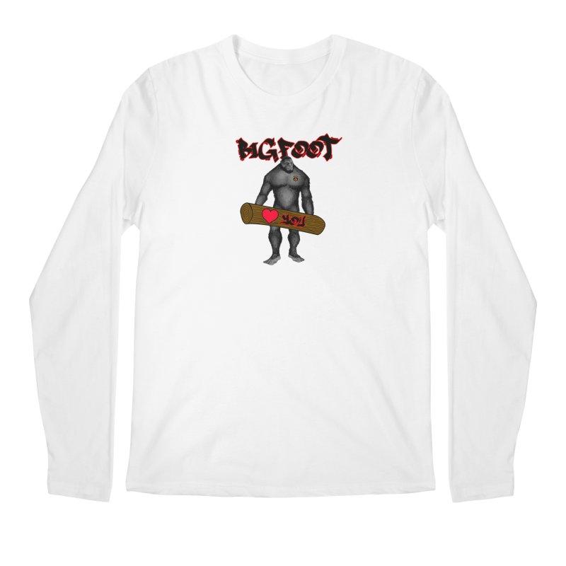 Bigfoot Men's Regular Longsleeve T-Shirt by Vegetable Police