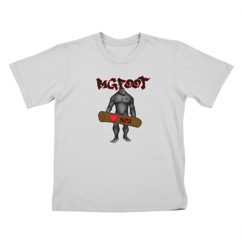 Bigfoot Kids T-Shirt by Vegetable Police
