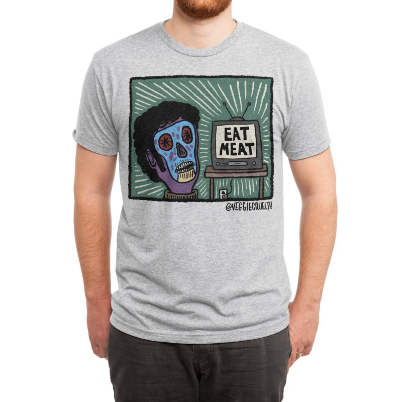 BUY THIS SHIRT Men's T-Shirt by veggie cruelty