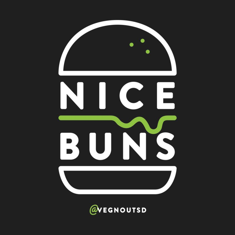 Nice Buns Men's T-Shirt by Vegnout SD's Artist Shop