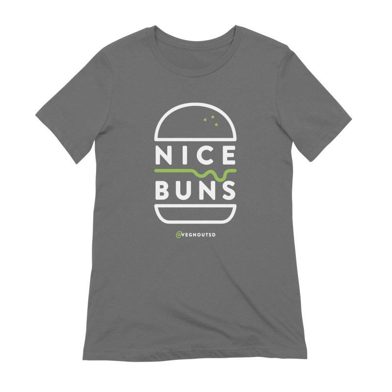Nice Buns Women's Extra Soft T-Shirt by Vegnout SD's Artist Shop