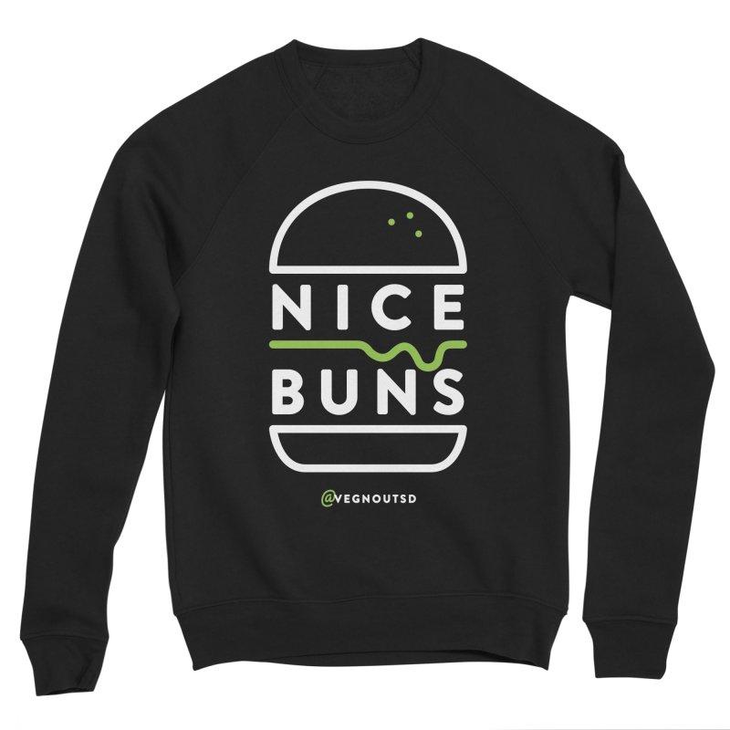 Nice Buns Men's Sponge Fleece Sweatshirt by vegnoutsd's Artist Shop