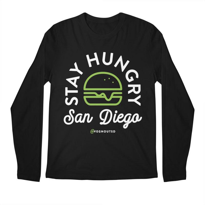 Stay Hungry Men's Regular Longsleeve T-Shirt by Vegnout SD's Artist Shop