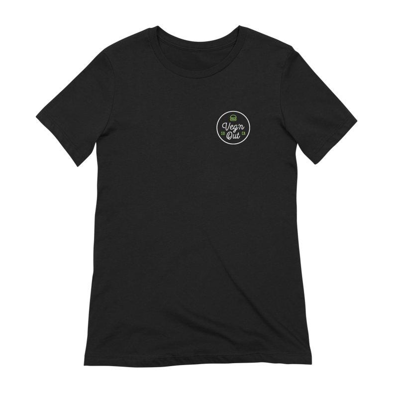Veg'n Out Classic Pocket Women's Extra Soft T-Shirt by vegnoutsd's Artist Shop