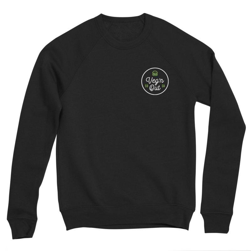 Veg'n Out Classic Pocket Men's Sponge Fleece Sweatshirt by vegnoutsd's Artist Shop