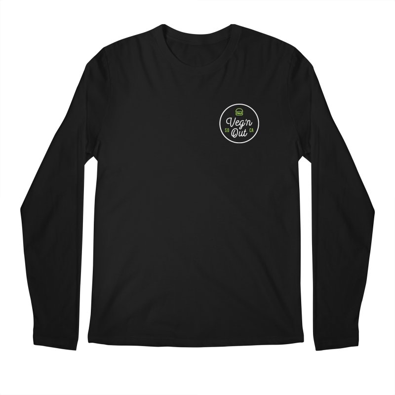 Veg'n Out Classic Pocket Men's Regular Longsleeve T-Shirt by Vegnout SD's Artist Shop