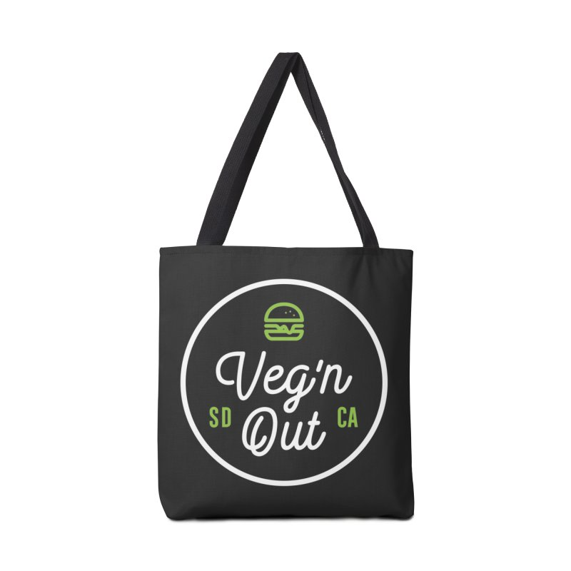 Veg'n Out Classic Accessories Tote Bag Bag by Vegnout SD's Artist Shop