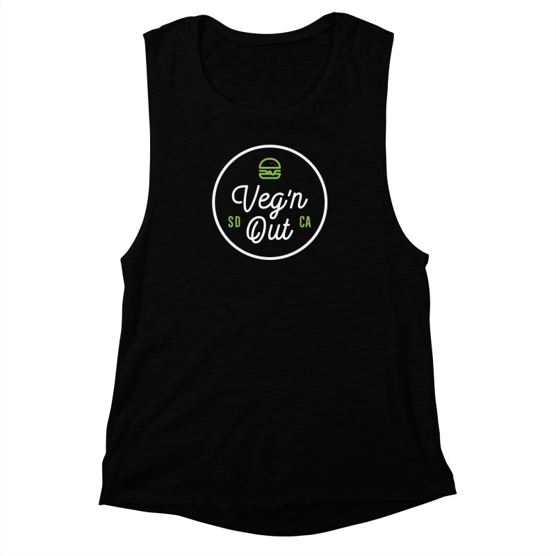 Veg'n Out Classic Women's Muscle Tank by Vegnout SD's Artist Shop