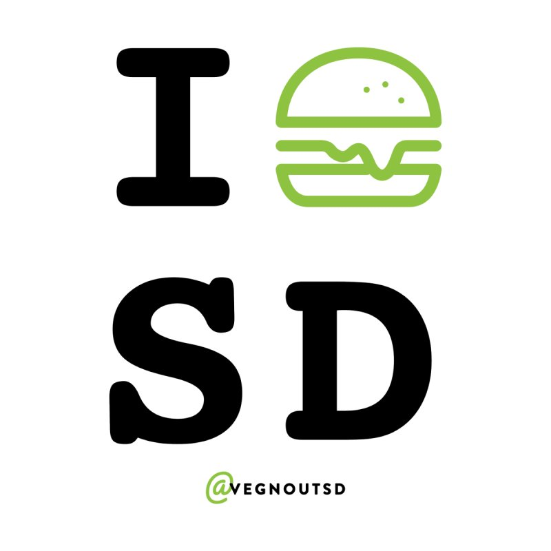 I BURGER SD Women's T-Shirt by vegnoutsd's Artist Shop
