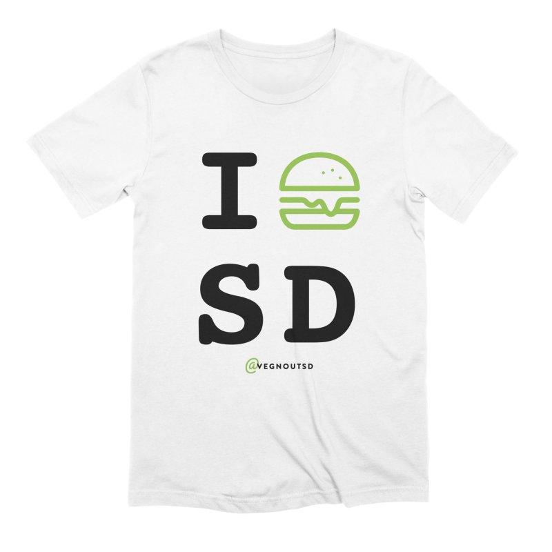 I BURGER SD Men's T-Shirt by Vegnout SD's Artist Shop