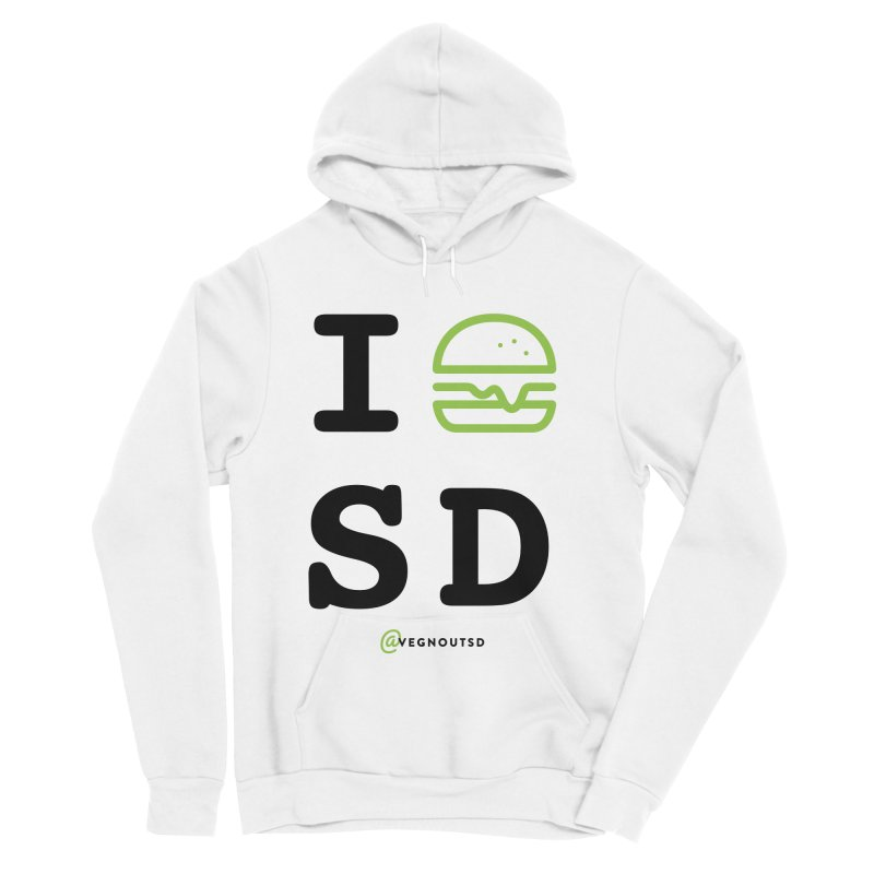 I BURGER SD Women's Sponge Fleece Pullover Hoody by Vegnout SD's Artist Shop