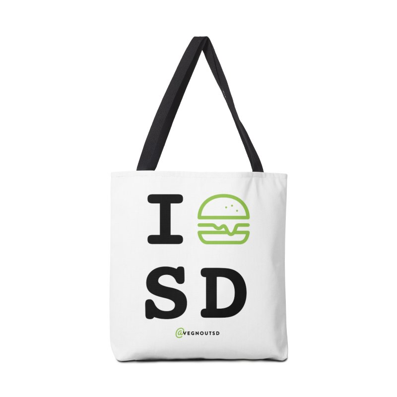 I BURGER SD Accessories Tote Bag Bag by Vegnout SD's Artist Shop