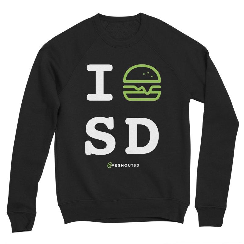 I BURGER SD Men's Sponge Fleece Sweatshirt by vegnoutsd's Artist Shop