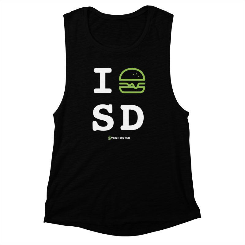 I BURGER SD Women's Muscle Tank by Vegnout SD's Artist Shop