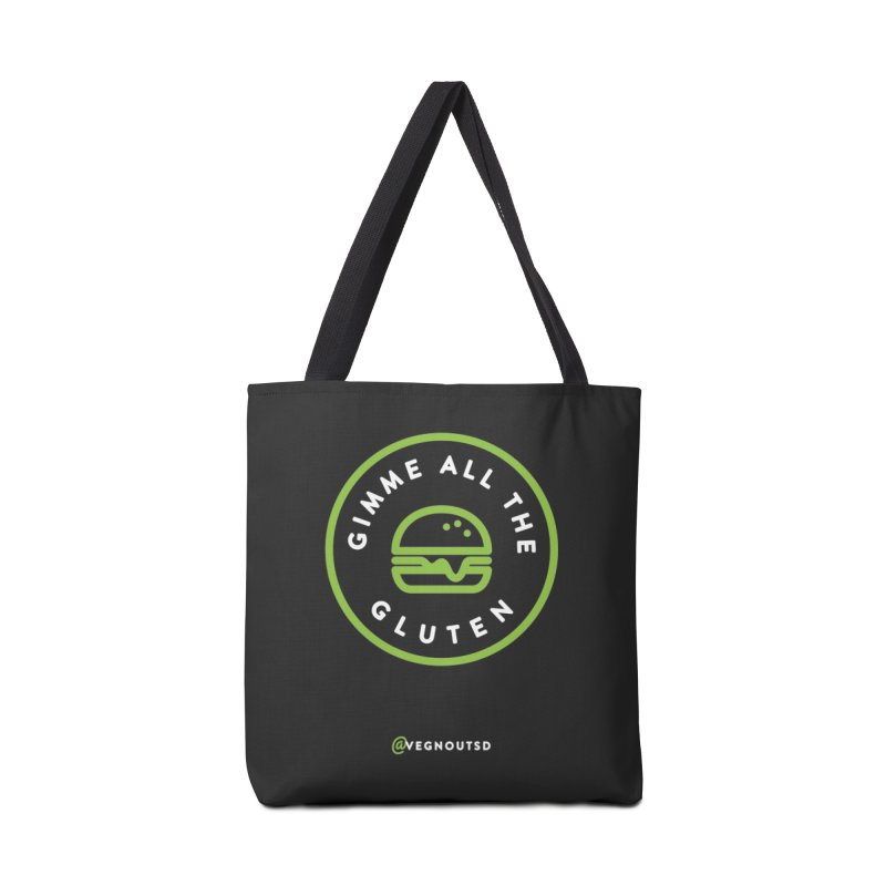 Gimme All The Gluten Accessories Tote Bag Bag by Vegnout SD's Artist Shop
