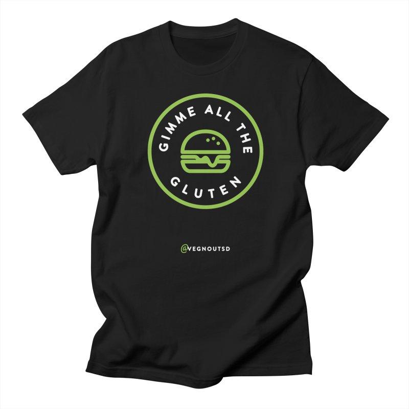 Gimme All The Gluten Women's Regular Unisex T-Shirt by Vegnout SD's Artist Shop