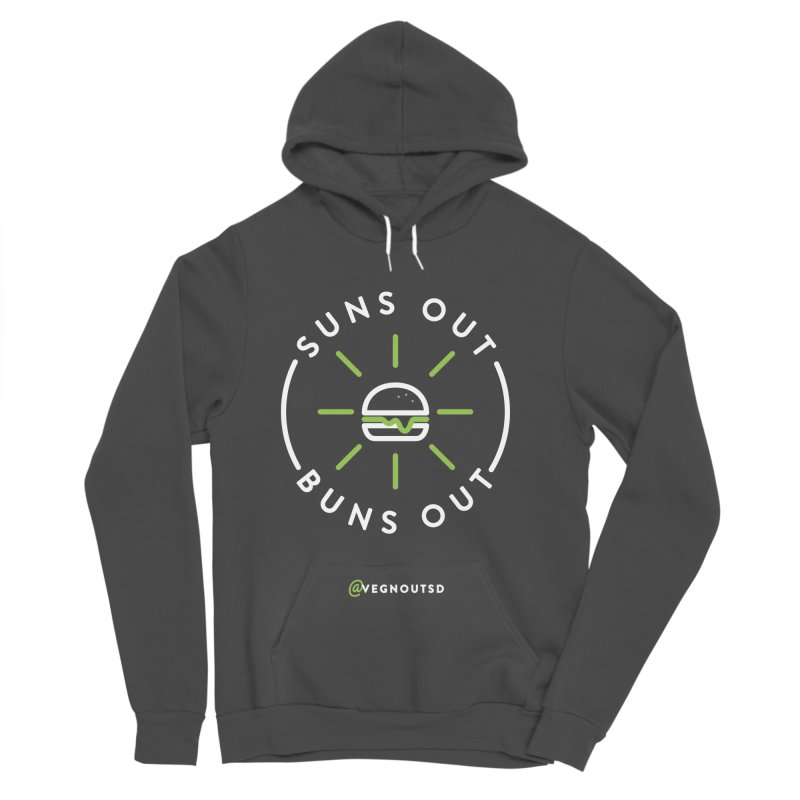 Suns Out Buns Out Women's Sponge Fleece Pullover Hoody by Vegnout SD's Artist Shop