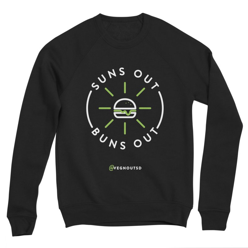 Suns Out Buns Out Women's Sponge Fleece Sweatshirt by Vegnout SD's Artist Shop