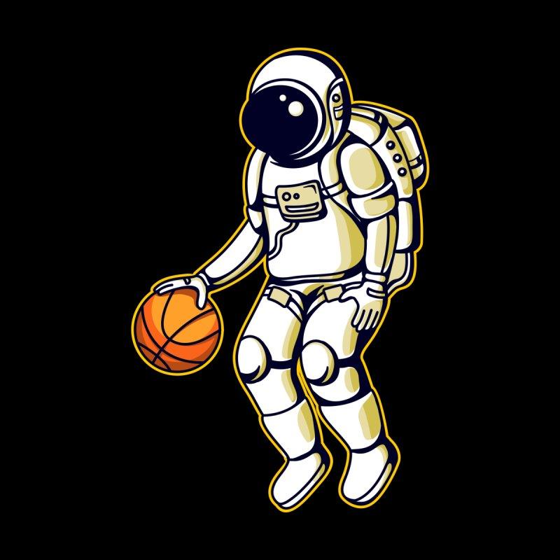 Astronaut and Basketball by VEKTORKITA