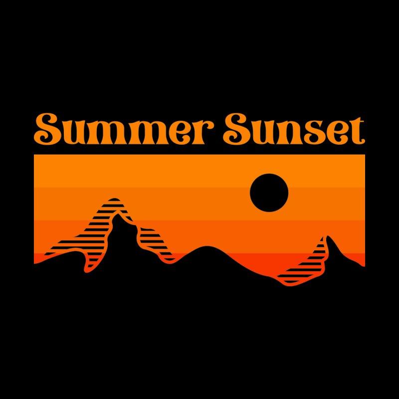 Summer Sunset by VEKTORKITA