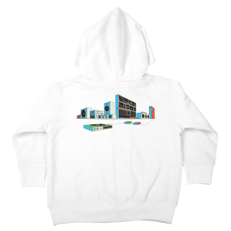 Boombox City Kids Toddler Zip-Up Hoody by velcrowolf