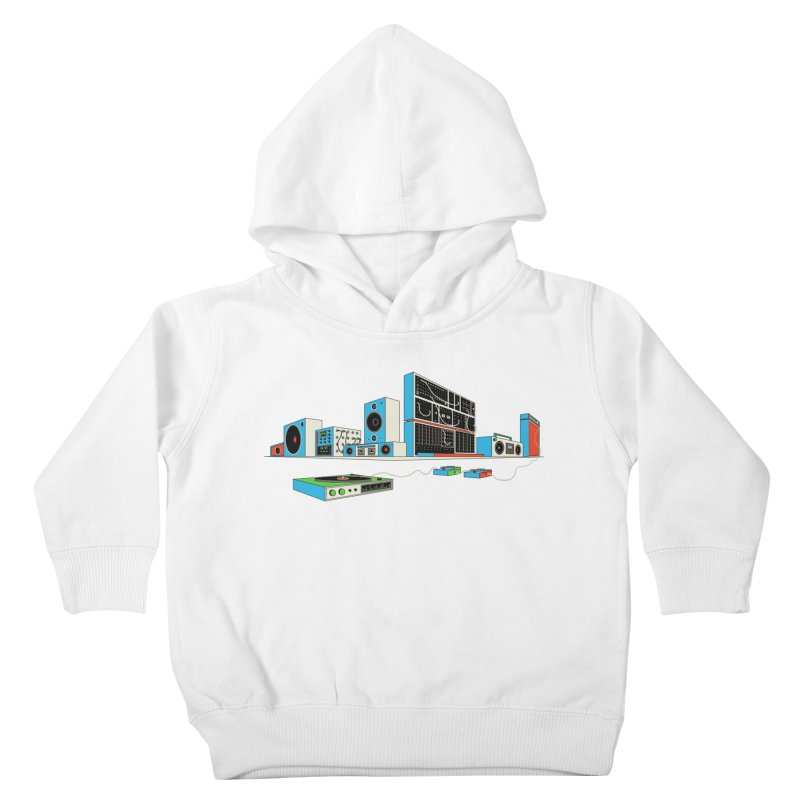 Boombox City Kids Toddler Pullover Hoody by velcrowolf