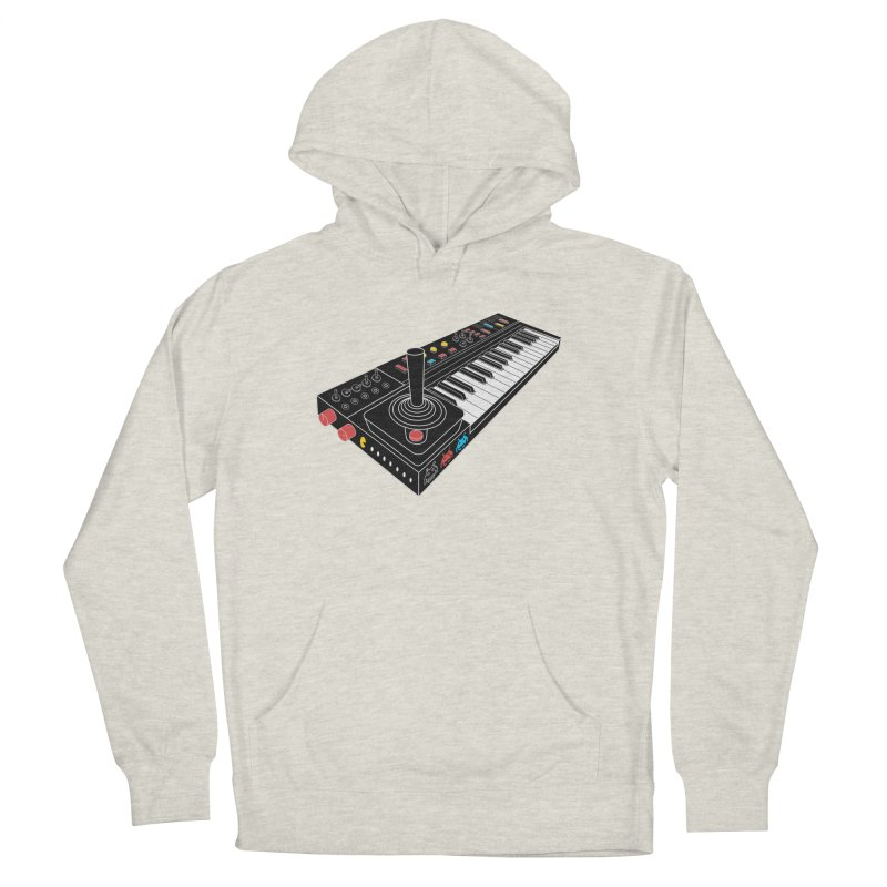 Casiotone Atari Men's French Terry Pullover Hoody by velcrowolf