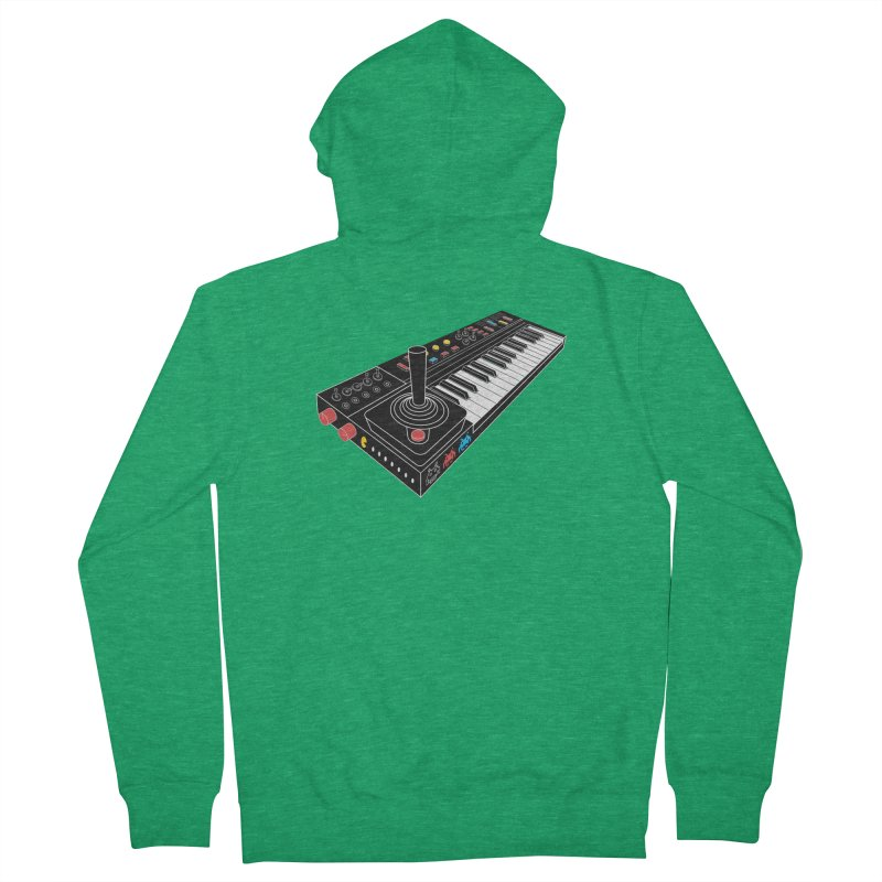 Casiotone Atari Men's Zip-Up Hoody by velcrowolf