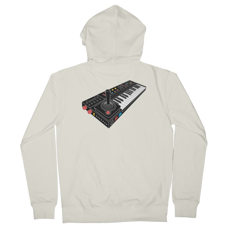 Casiotone Atari Men's French Terry Zip-Up Hoody by velcrowolf