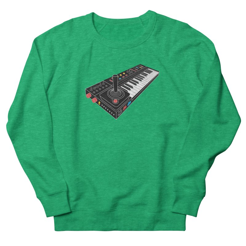 Casiotone Atari Men's French Terry Sweatshirt by velcrowolf