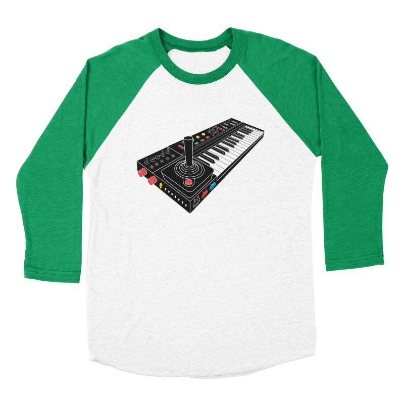 Casiotone Atari Women's Baseball Triblend T-Shirt by velcrowolf