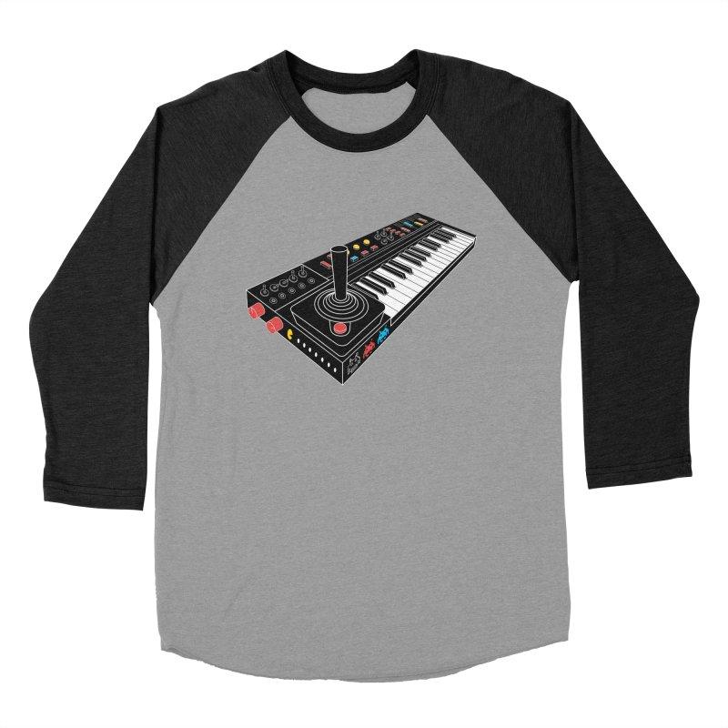 Casiotone Atari Women's Baseball Triblend Longsleeve T-Shirt by velcrowolf