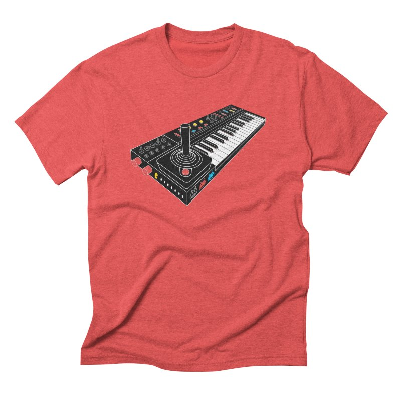 Casiotone Atari Men's Triblend T-shirt by velcrowolf