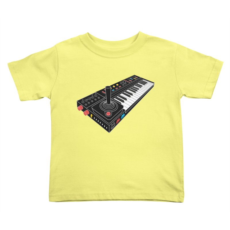 Casiotone Atari Kids Toddler T-Shirt by velcrowolf