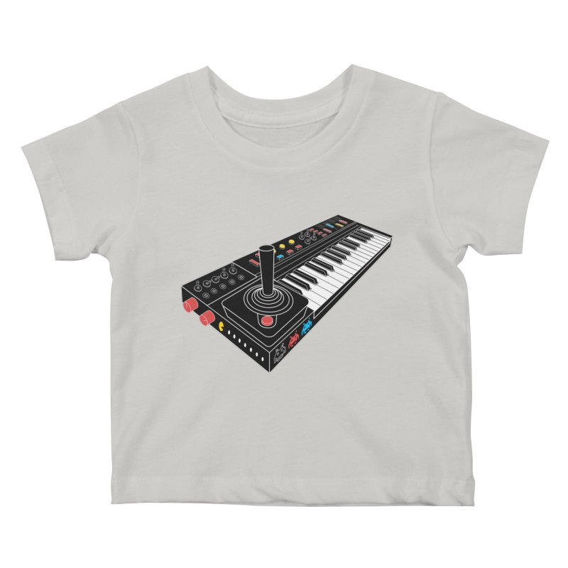Casiotone Atari Kids Baby T-Shirt by velcrowolf