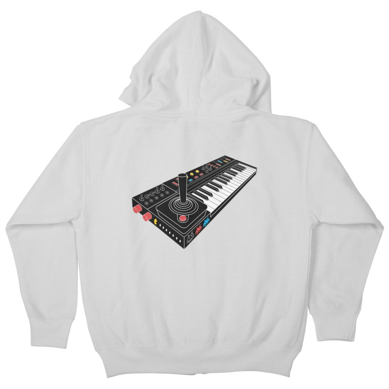 Casiotone Atari Kids Zip-Up Hoody by velcrowolf