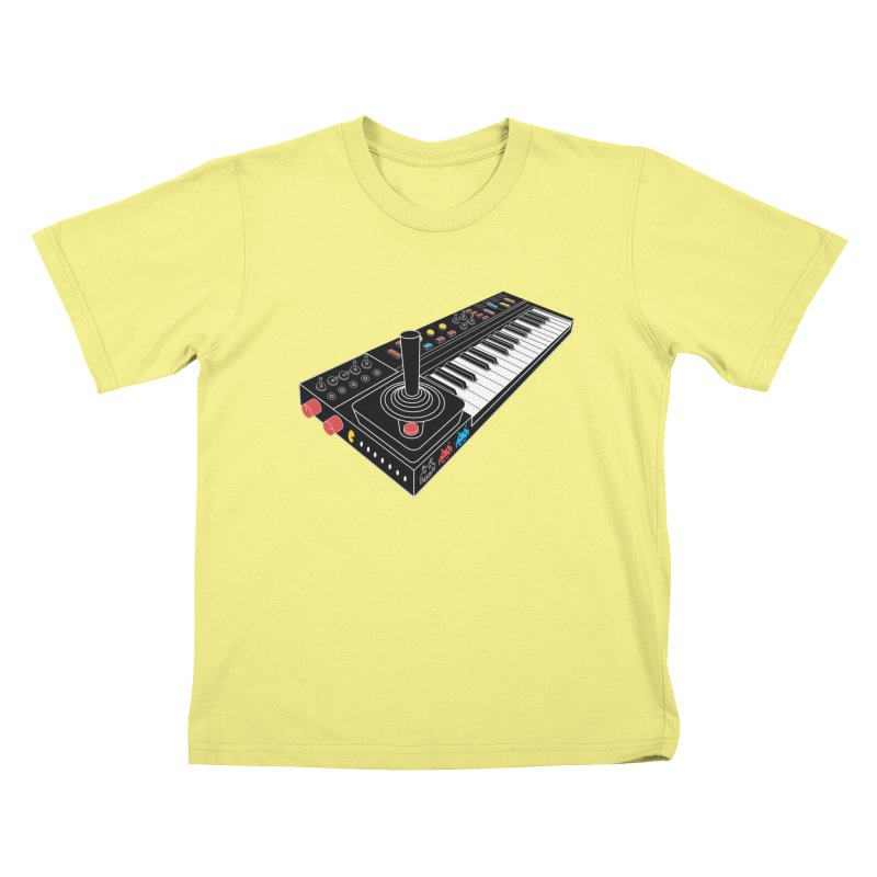 Casiotone Atari Kids T-shirt by velcrowolf