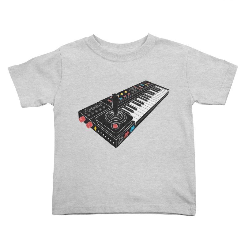 Casiotone Atari Kids Toddler T-Shirt by velcrowolf