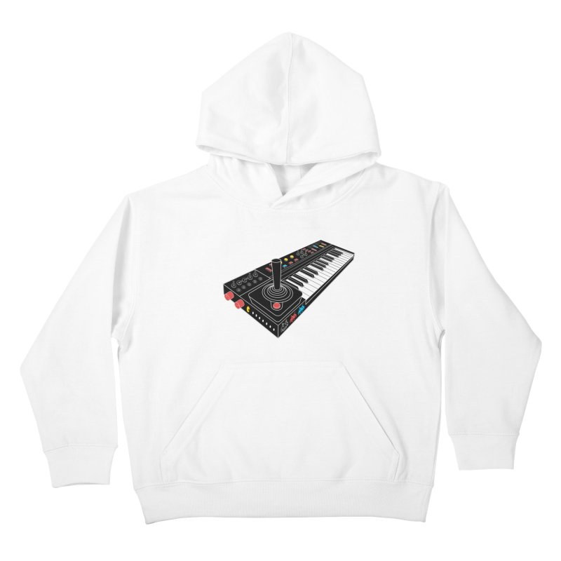 Casiotone Atari Kids Pullover Hoody by velcrowolf