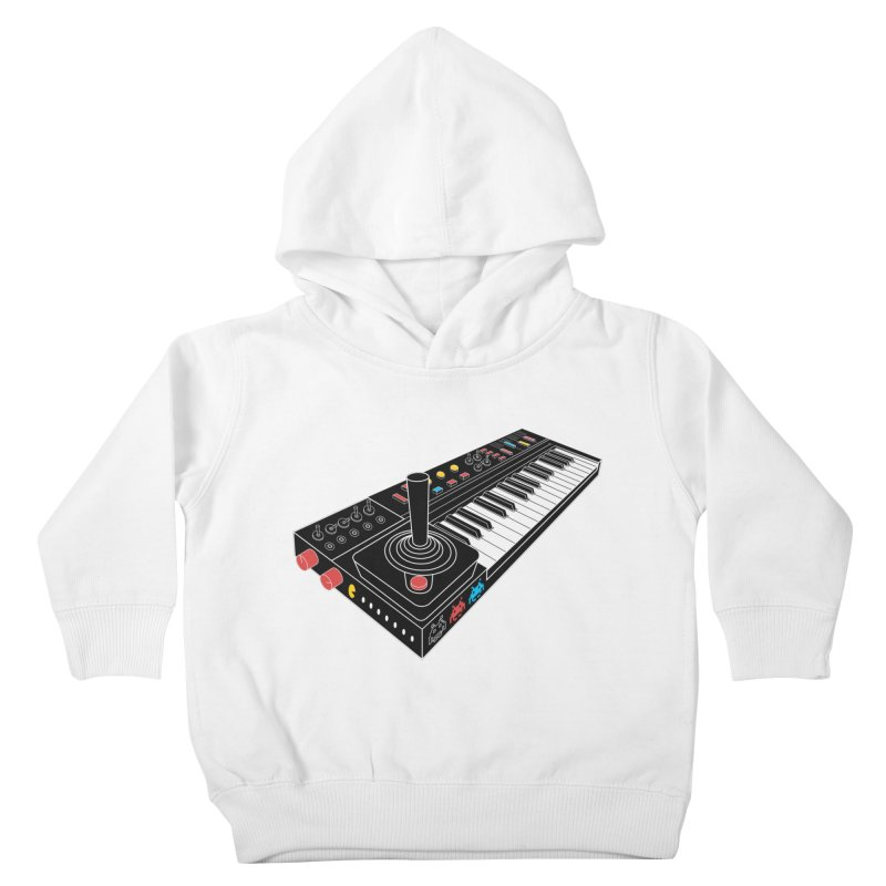 Casiotone Atari Kids Toddler Pullover Hoody by velcrowolf