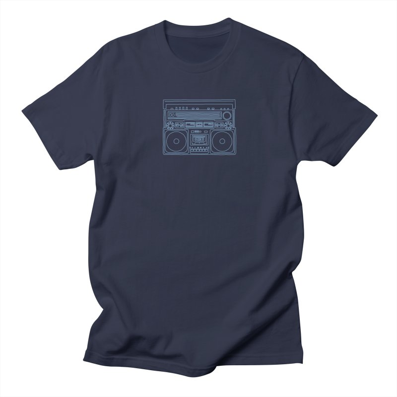 tron ghettoblaster Men's T-shirt by velcrowolf
