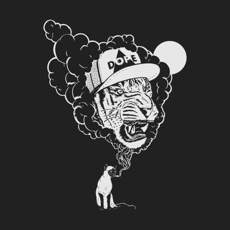 Dope Tiger! (Dark) Men's T-Shirt by velcrowolf
