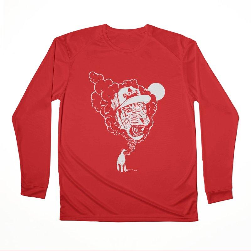 Dope Tiger! (Dark) Women's Longsleeve T-Shirt by velcrowolf
