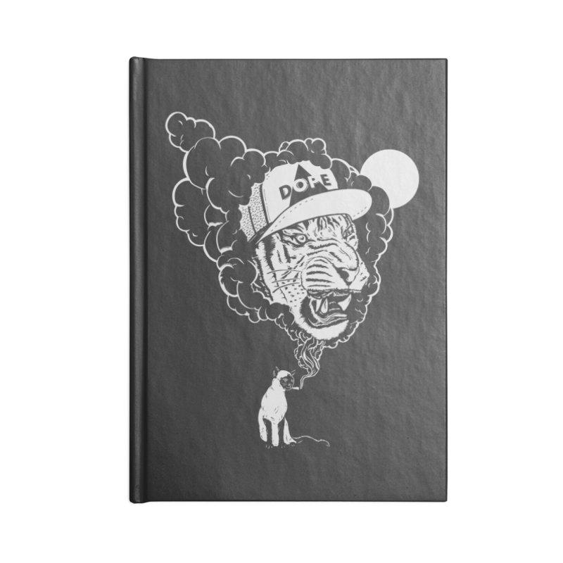 Dope Tiger! (Dark) Accessories Notebook by velcrowolf