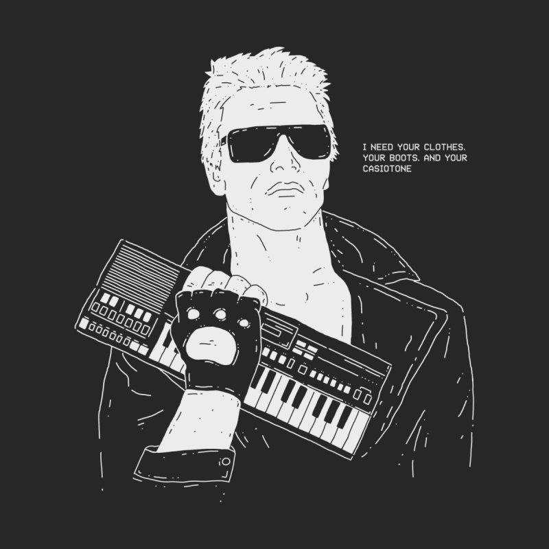 Terminator needs your Casiotone Men's T-Shirt by velcrowolf