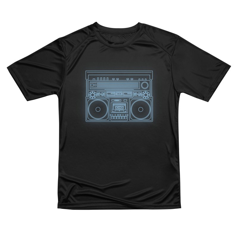 Tron Ghettoblaster Women's T-Shirt by velcrowolf
