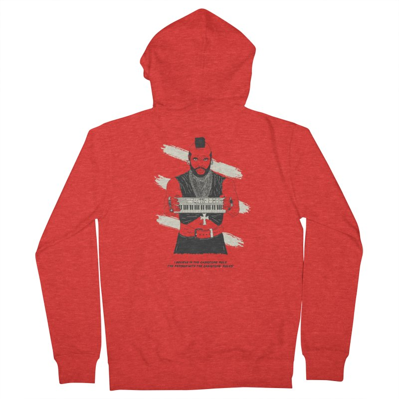 Mr. T Pity's the fool that don't play the Casiotone Men's Zip-Up Hoody by velcrowolf