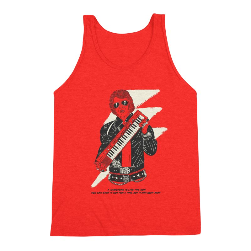 The King of the Casiotone Men's Tank by velcrowolf